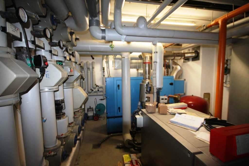 Strom- und Wärmeerzeugung für privat durch ein BHKW