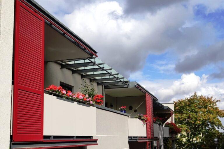 Nachhaltiges Bauen – viereinhalb Etagen mit Stroh