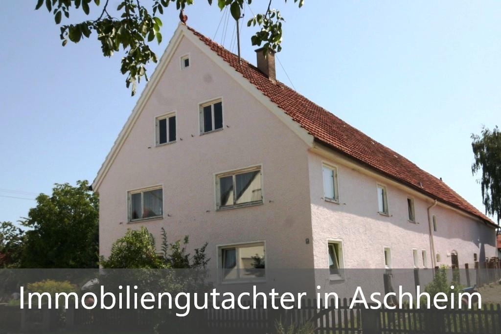 Immobilienbewertung Aschheim