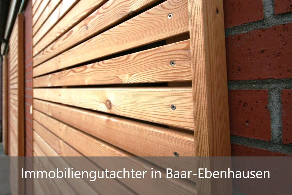 Immobilienbewertung Baar-Ebenhausen