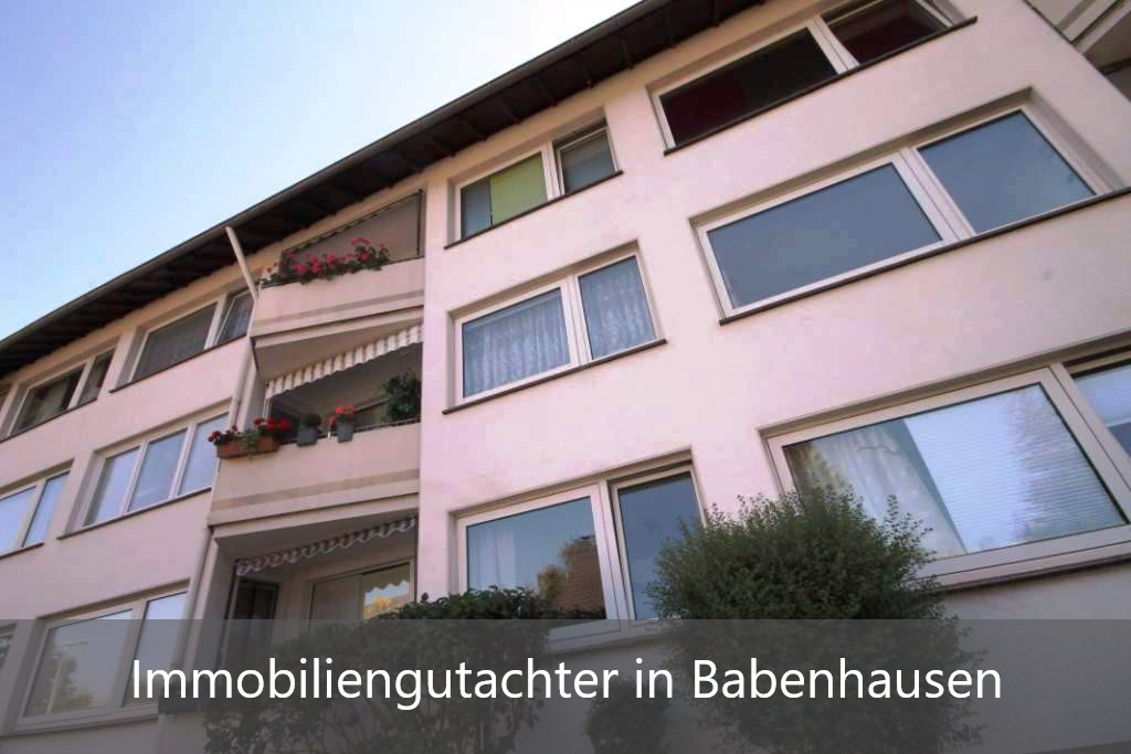 Immobilienbewertung Babenhausen (Schwaben)