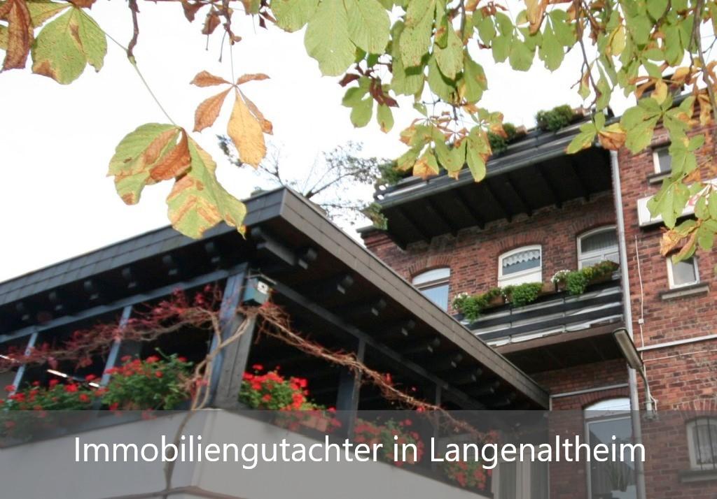 Immobilienbewertung Langenaltheim