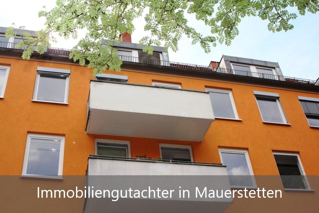 Immobilienbewertung Mauerstetten