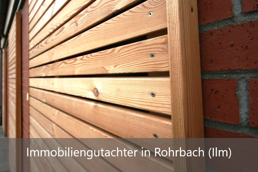 Immobilienbewertung Rohrbach (Ilm)