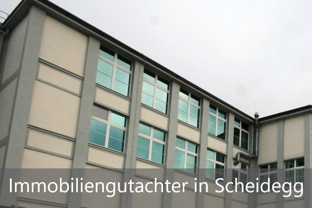 Immobilienbewertung Scheidegg