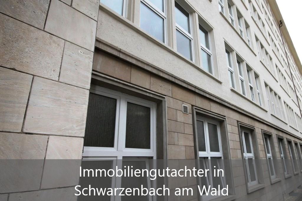 Immobilienbewertung Schwarzenbach am Wald