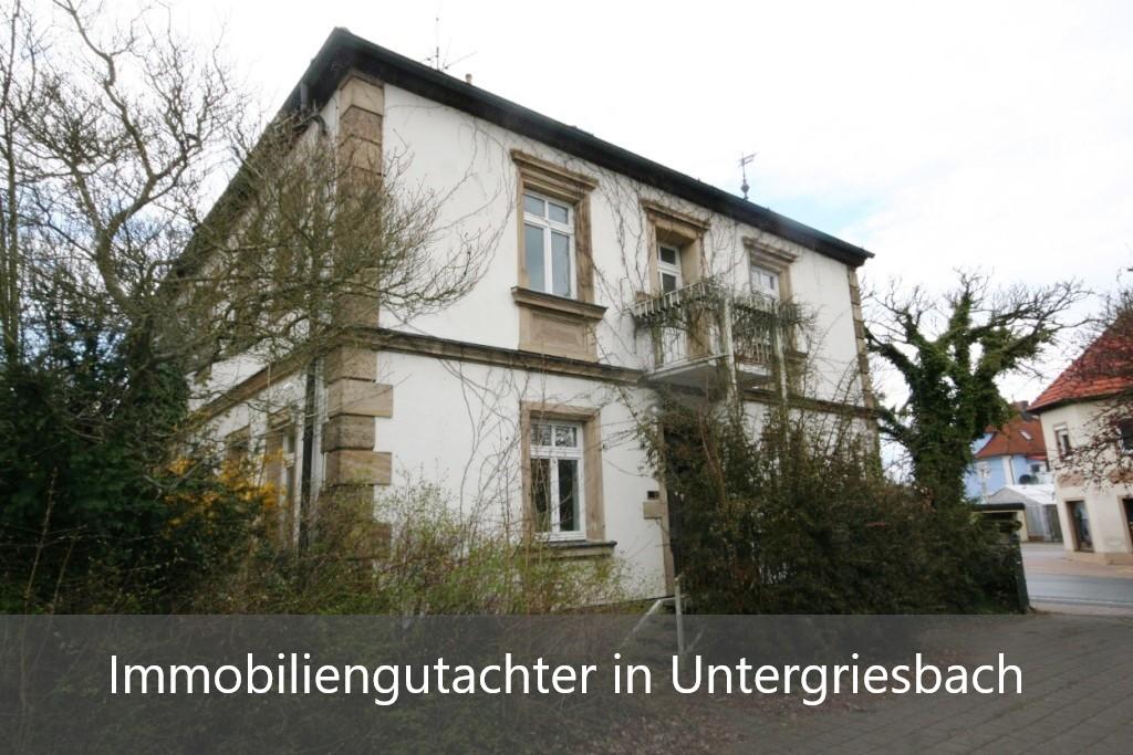Immobilienbewertung Untergriesbach