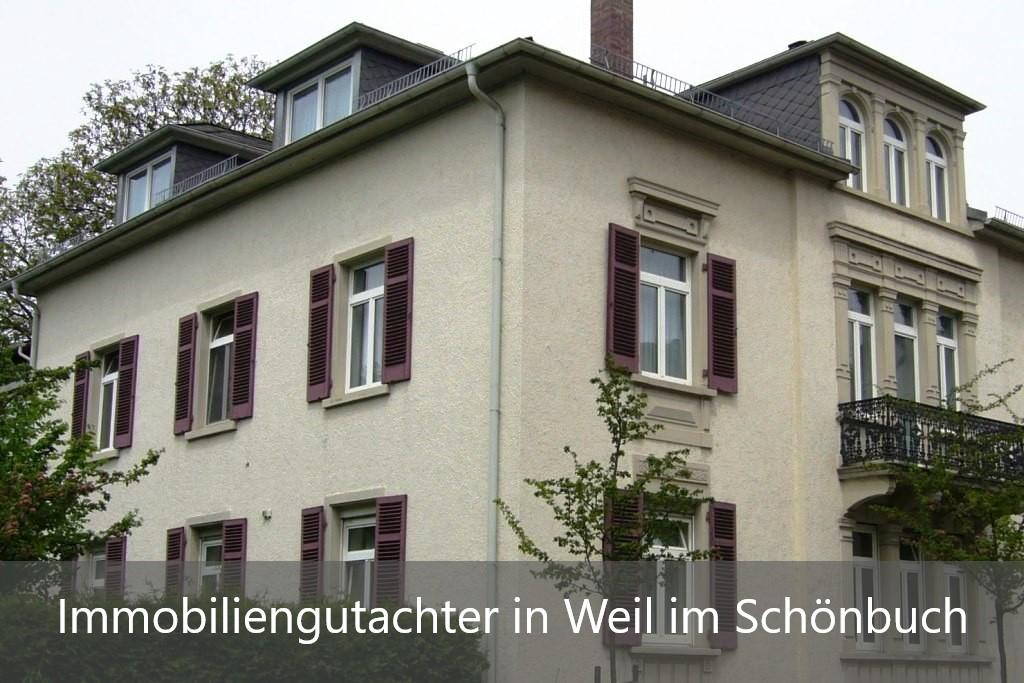 Immobilienbewertung Weil im Schönbuch