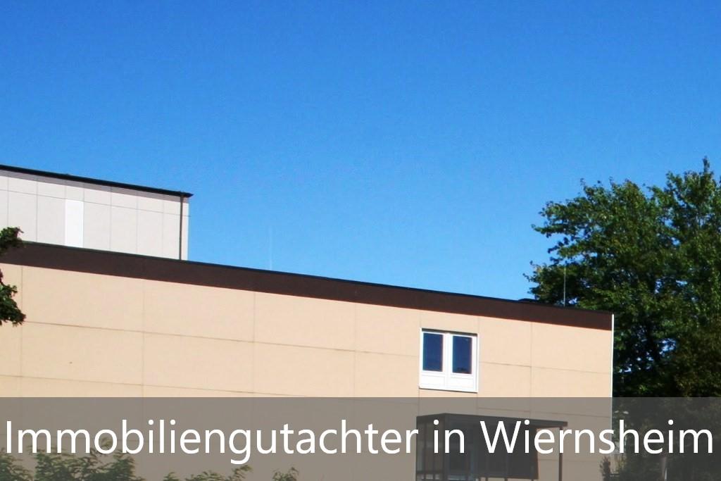 Immobilienbewertung Wiernsheim