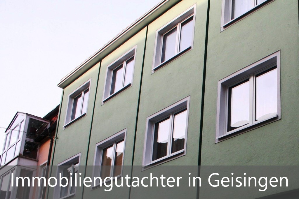 Immobilienbewertung Geisingen