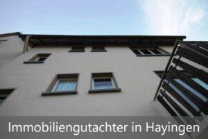 Immobiliengutachter Hayingen