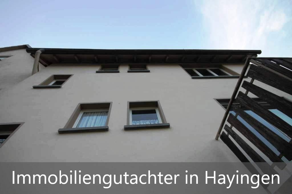 Immobilienbewertung Hayingen
