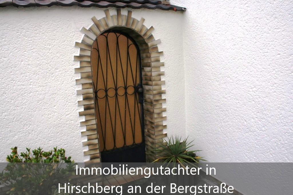 Immobilienbewertung Hirschberg an der Bergstraße