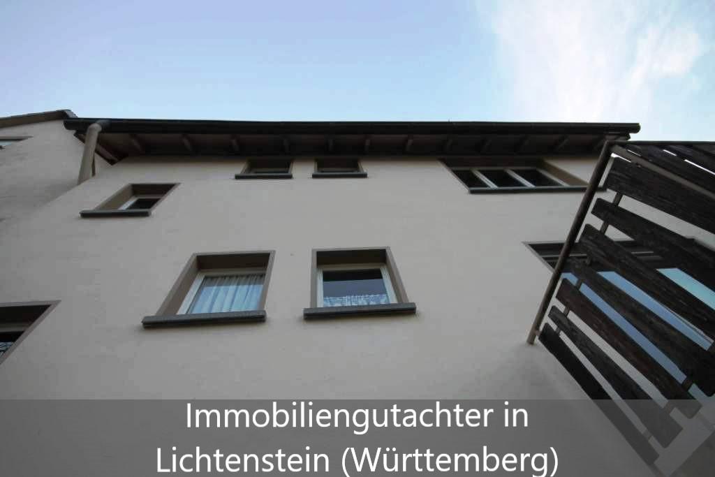 Immobilienbewertung Lichtenstein (Württemberg)