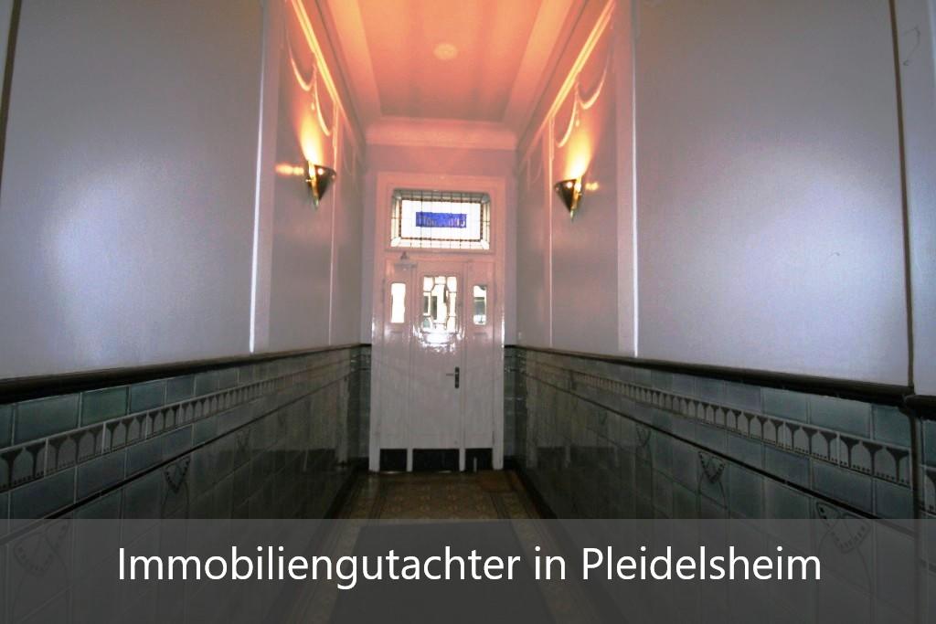 Immobilienbewertung Pleidelsheim